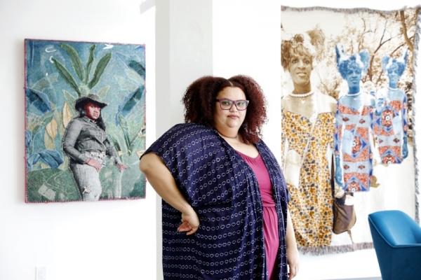 Love of a Black planet:Artist April Bey's Atlantica soars beyond Wakanda