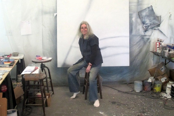 In the studio with…Betty Tompkins