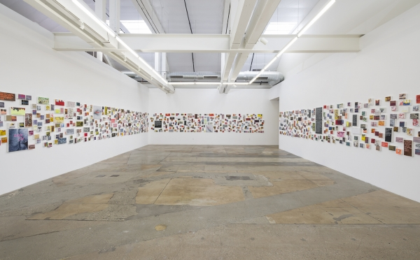 Girl talk: Betty Tompkins unveils 1,000 text-based paintings at Gavlak LA