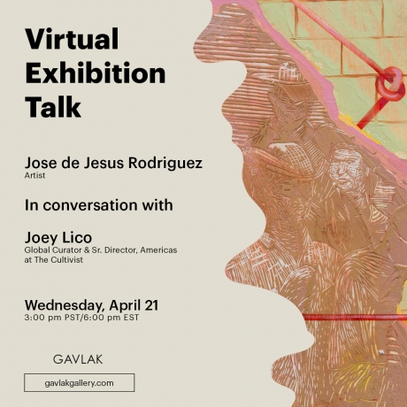 Virtual Exhibition Talk with Jose de Jesus Rodriguez and Joey Lico
