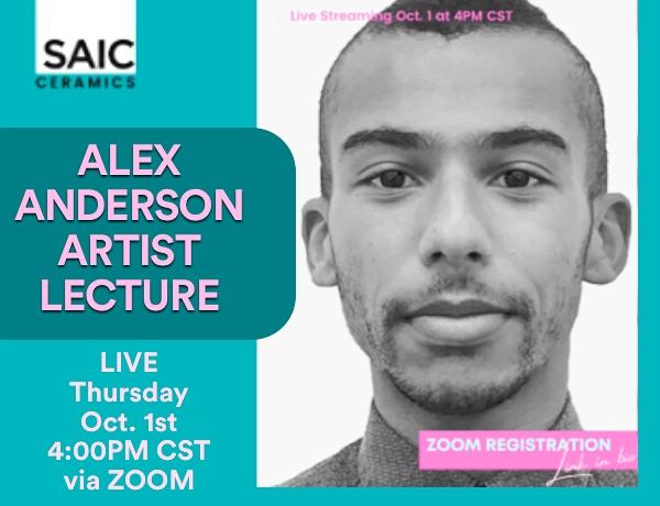 Alex Anderson Zoom Lecture: SAIC Ceramics