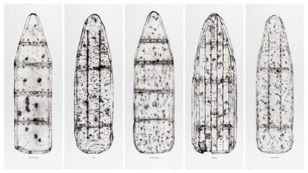 Impressions of ironing boards, honoring labor