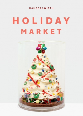Francesca Gabbiani at Hauser & Wirth Holiday Market