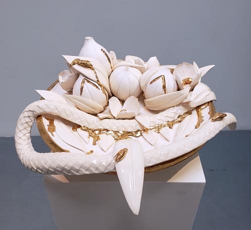 The Disturbing Meets the Sweet in Alex Anderson's New Sculptures at Gavlak