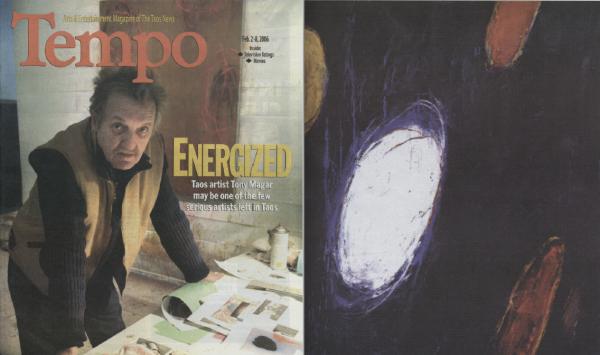 Tempo: Arts & Entertainment Magazine of the Taos News: Tony Magar