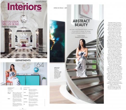 "Modern Luxury Interiors: ""Abstract Beauty"""
