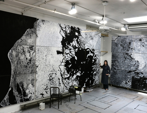 Ellen Harvey at The Aldrich Contemporary Art Museum