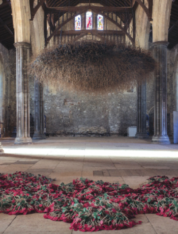 Cloud by Susie MacMurray   The Great Hall Winchester in Embroidery