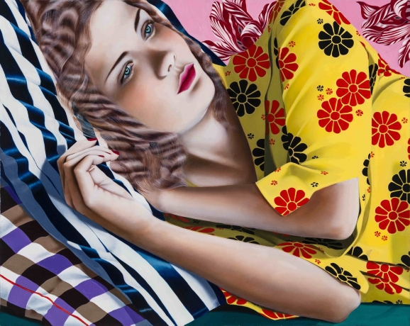 Jocelyn Hobbie at Fredericks & Freiser in The New York Times