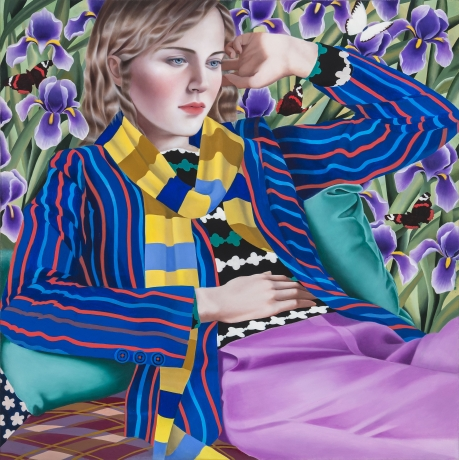 Jocelyn Hobbie: New Paintings Reviewed in Artsy