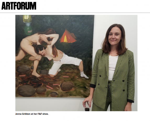 Jenna Gribbon in Artforum