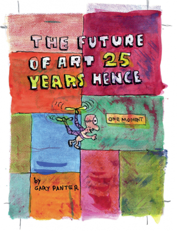 Gary Panter in Frieze Magazine's 25th Anniversary Issue