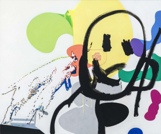 David Humphrey at Fredericks & Freiser in Two Coats of Paint