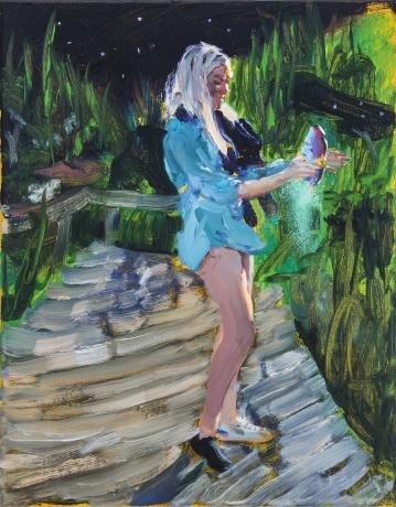 Jenna Gribbon in ArtNet News