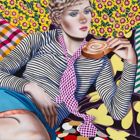 Jocelyn Hobbie at Fredericks & Freiser in The New Yorker
