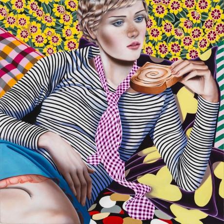 Jocelyn Hobbie at Fredericks & Freiser in The New Yorker