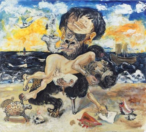 Sam Messer in Art in America