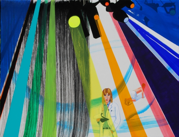 """David Humphrey in """"New York; New Friends"""" at Linda Warren Projects, Chicago"""