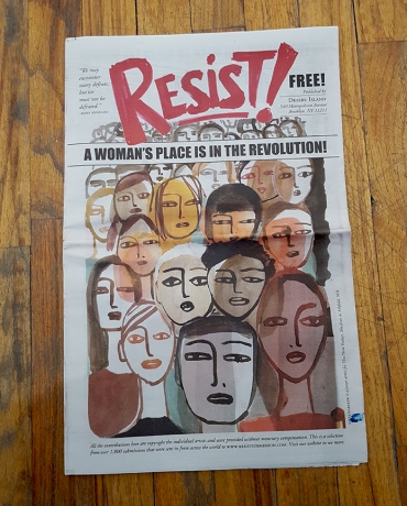 Resist newspaper