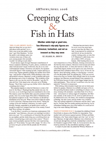 Creeping Cats and Fish in Hats