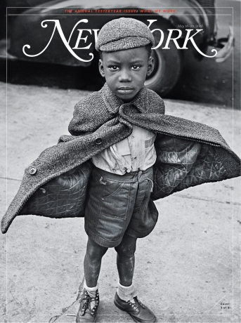 PRESS: Butterfly Boy by Jerome Liebling on the cover of New York Magazine