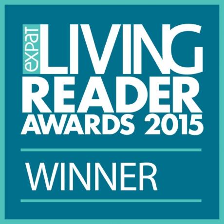 Expat Living Readers Awards 2015: WINNER