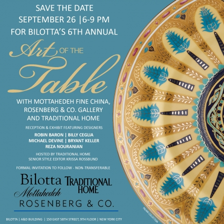 "Bilotta's 6th Annual ""Art of the Table"""