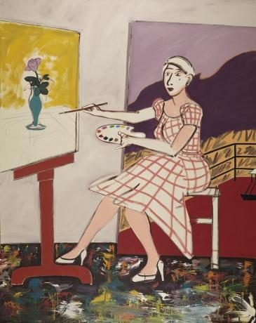 Joan Brown, 'Self-Portrait,' 1976.