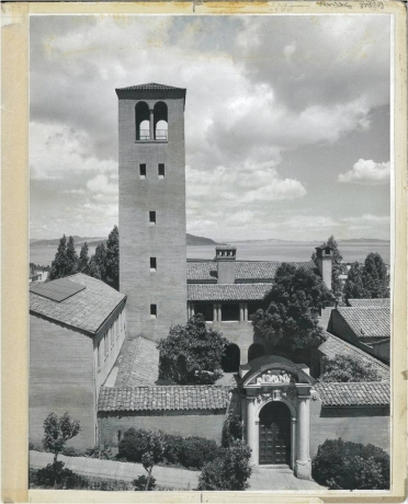 The California School of Fine Arts, c. 1953.