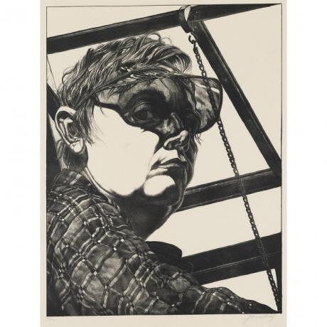 Jack Beal, 'Self-Portrait' 1974.