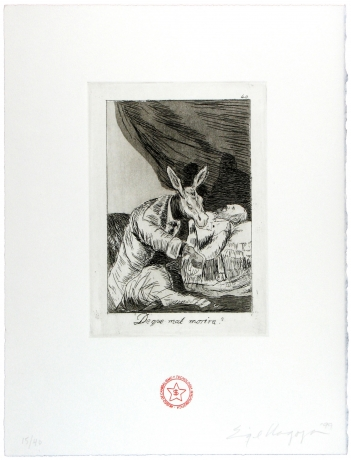 Enrique Chagoya, 'Return to Goya's Caprichos' 1999