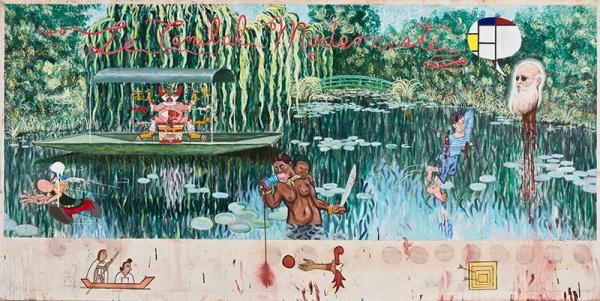 Enrique Chagoya, 'Le Cannibale Moderniste' 1999