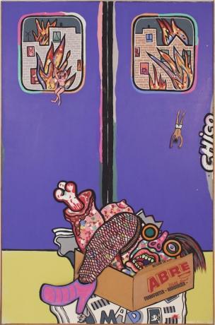 Luis Cruz Azaceta, 'JiJiJi Express' 1974-75