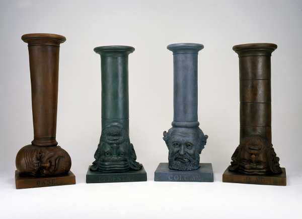 Robert Arneson's Self Portraits in Bronze