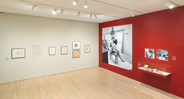 'David Park and His Circle: The Drawing Sessions' installation view at the San Francisco Museum of Modern Art.