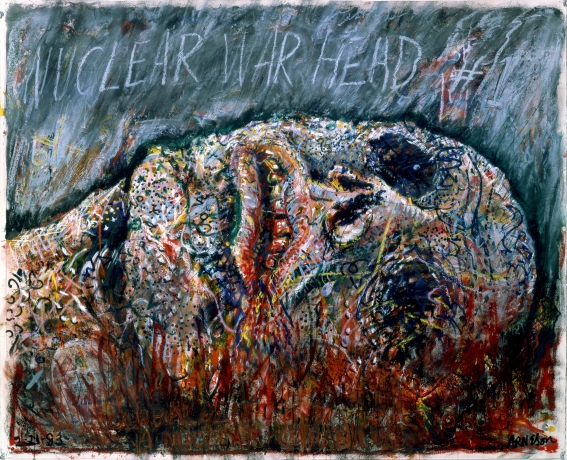 Robert Arneson, Nuclear War Head #1, 1983