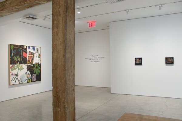 Installation view, Documents, George Adams Gallery, New York, 2020.