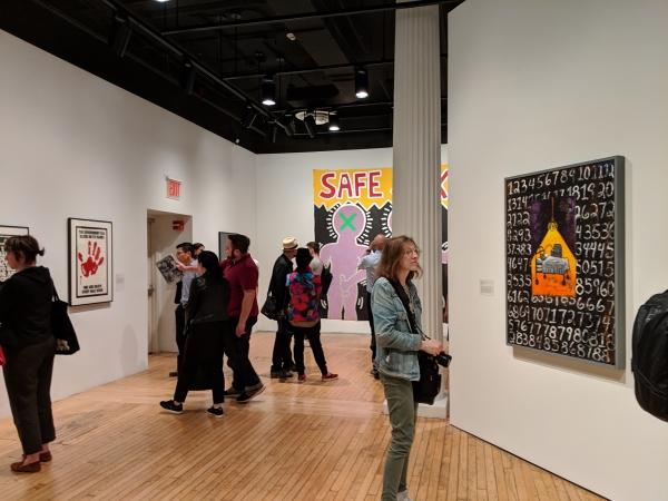 Installation view, 'Art After Stonewall 1969-89,' Grey Art Gallery, NYU, 2019