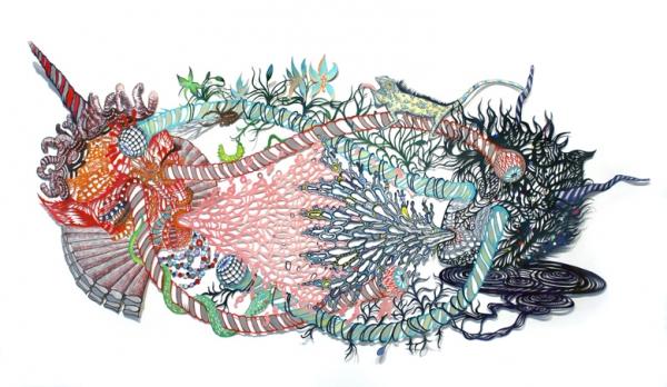 Kako Ueda, 'One-Horn, Two-Horn,' 2012-13.