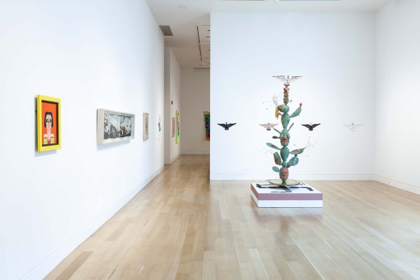 Installation view at the DePaul Art Museum, 2021.