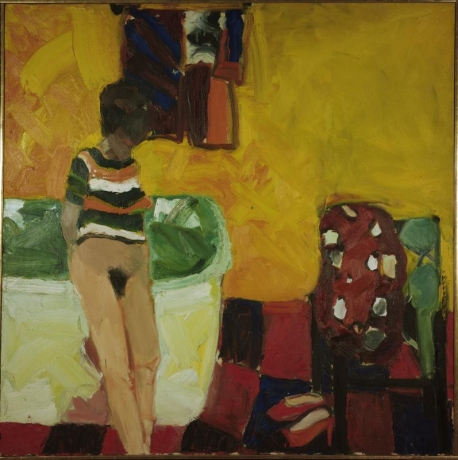 Joan Brown, 'Getting Ready for the Bath' 1961