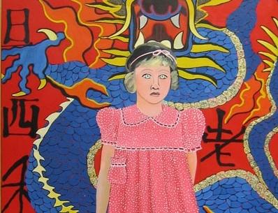 Joan Brown, Portrait of a Girl