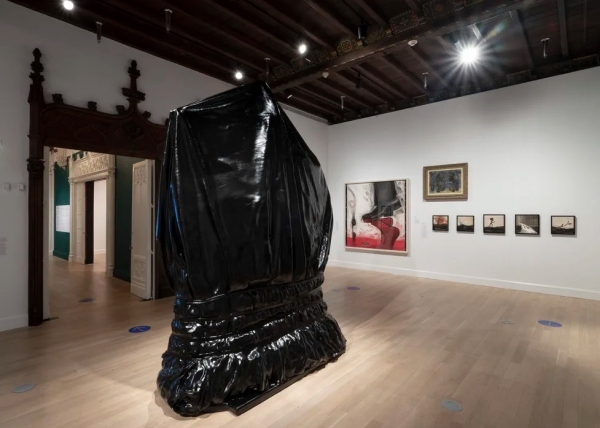 Installation View, 'We Fight to Build a Free World,' Jewish Museum, New York, 2020.