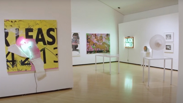 Luis Cruz Azaceta and Enrique Chagoya at the Taubman Museum of Art, Roanoke