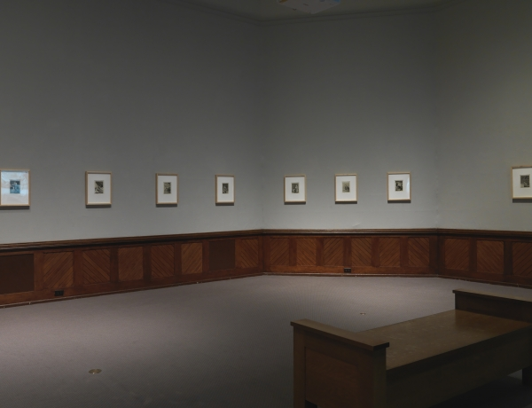"Installation view, ""Ancient History of the Distant Future,"" Pennsylvania Academy of the Fine Arts, Philadelphia, 2019, photo credit Barbara Katus, courtesy PAFA"