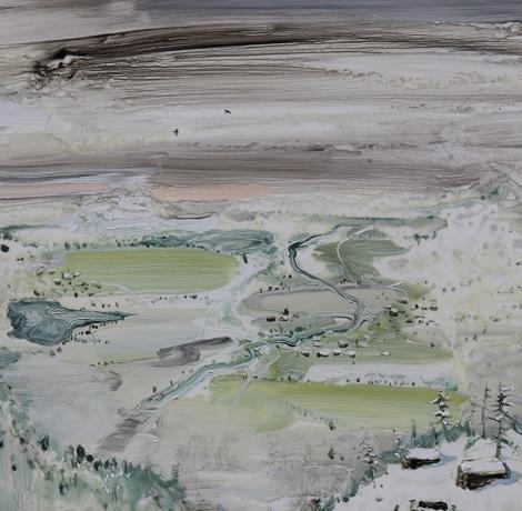 Amer Kobaslija, 'Fertile Valley' 2017