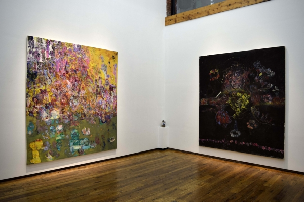 Installation Shot of Judy Glantzman 2018