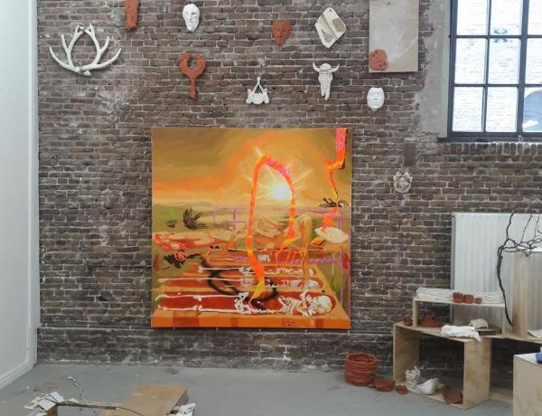 Esteban Cabeza de Baca - Open Studio @ Rijksakademie