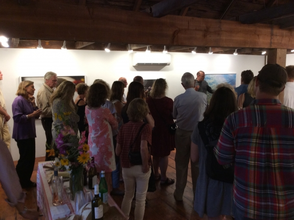 Barry Stone - The World is Round from Here Opening Reception