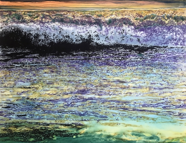 """Ena Swansea: """"sea and snow"""" opening at Gaa Gallery Provincetown"""